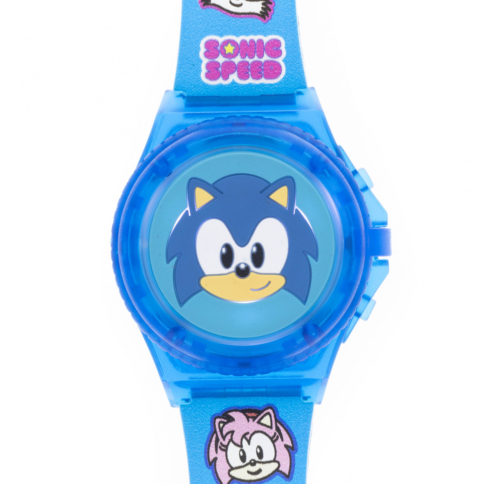 Sonic the Hedgehog Kids Digital Read Wrist Watch - Blue