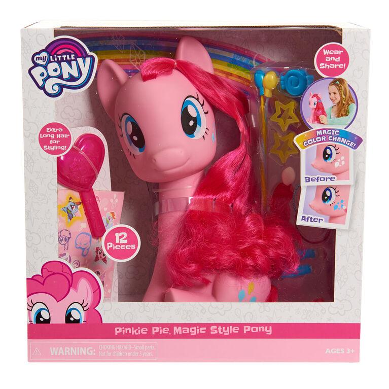 My Little Pony 12pc Pinkie Pie Pink Magic Styling Pony 12pc
