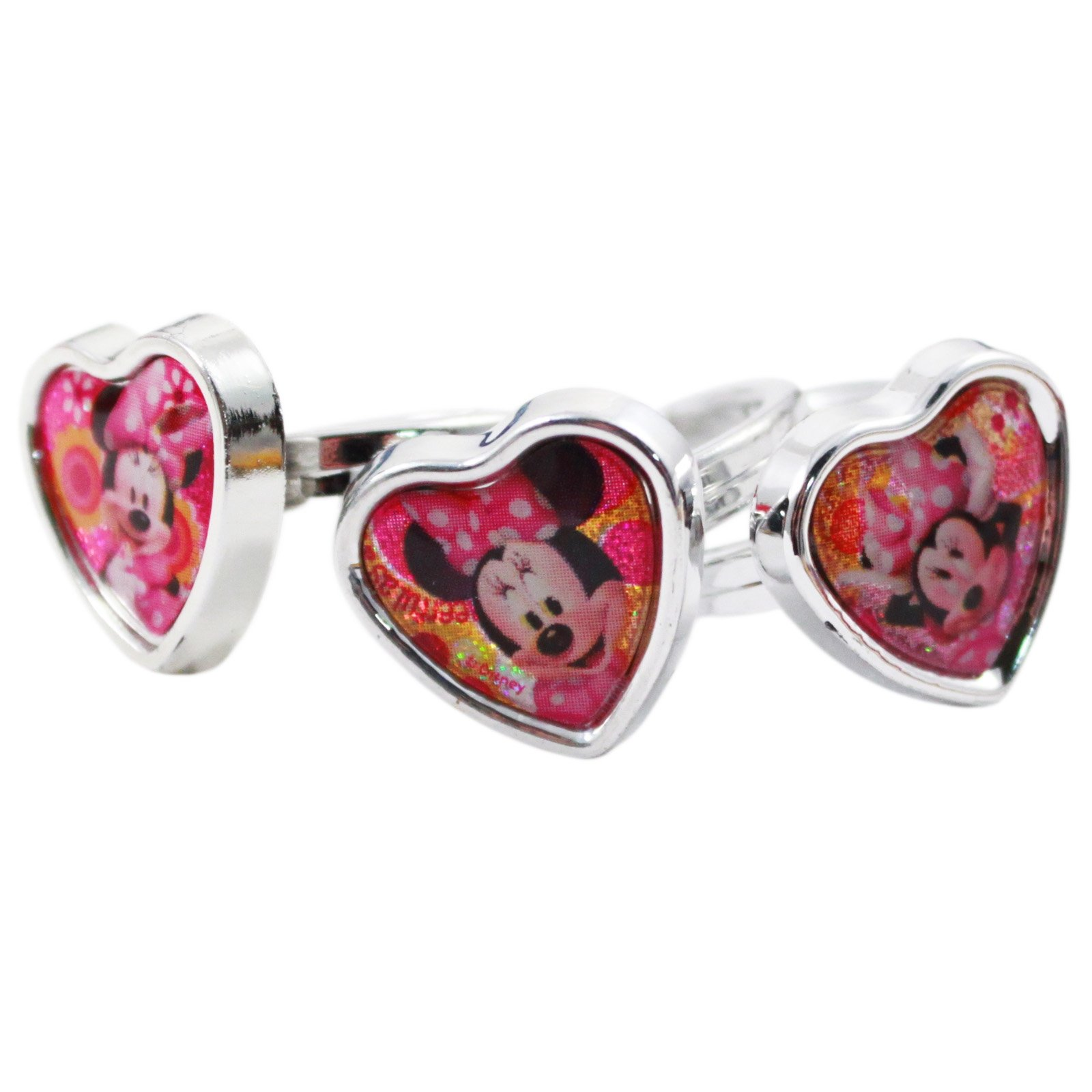 21pc Disney Minnie Mouse Girls Rings and Earrings Set Days of the Week