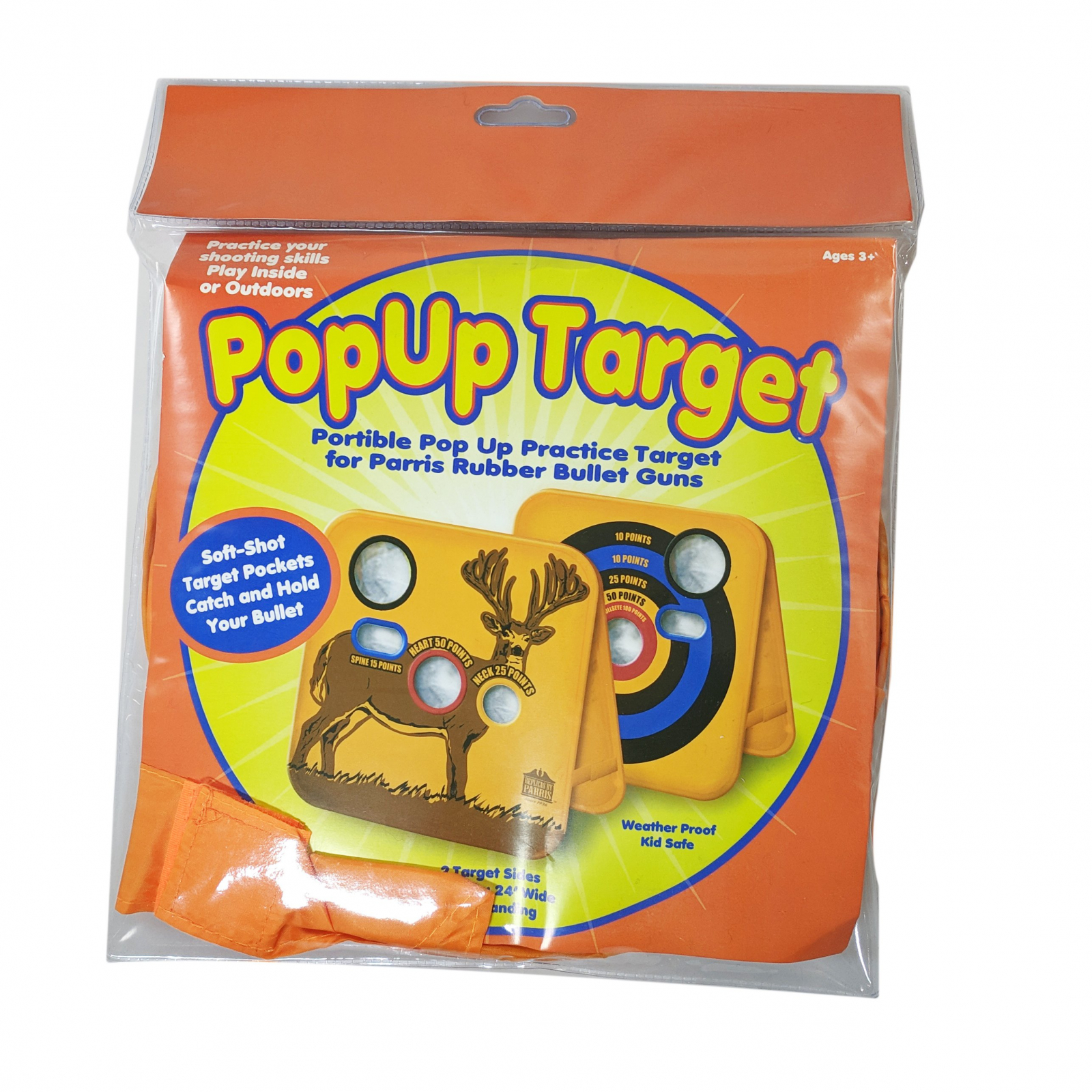 Parris Game Hunter Pop Up Target Pocket with 20pc Ammo