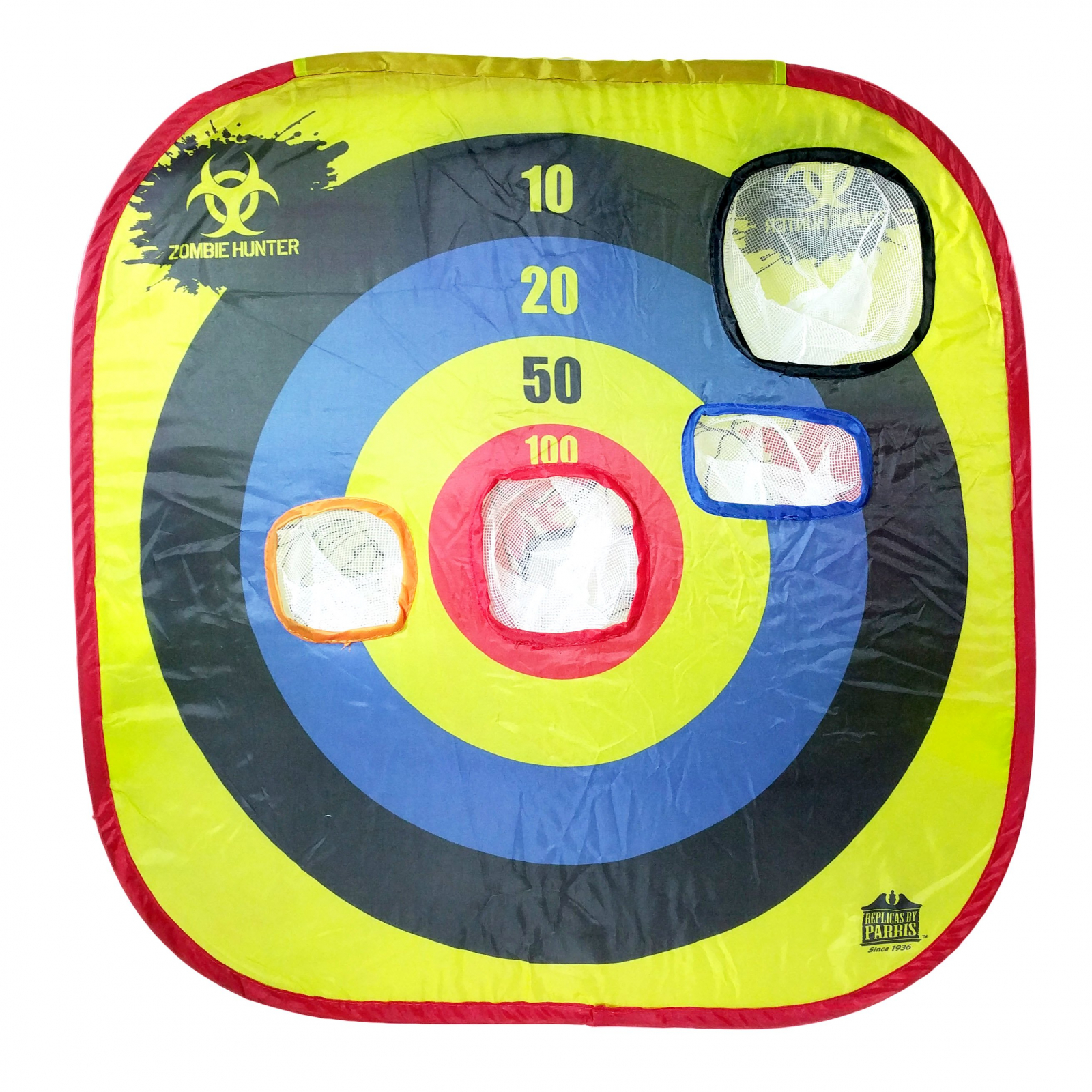 Parris Zombie Hunter Pop Up Target with 20pc Soft Rubber BBs