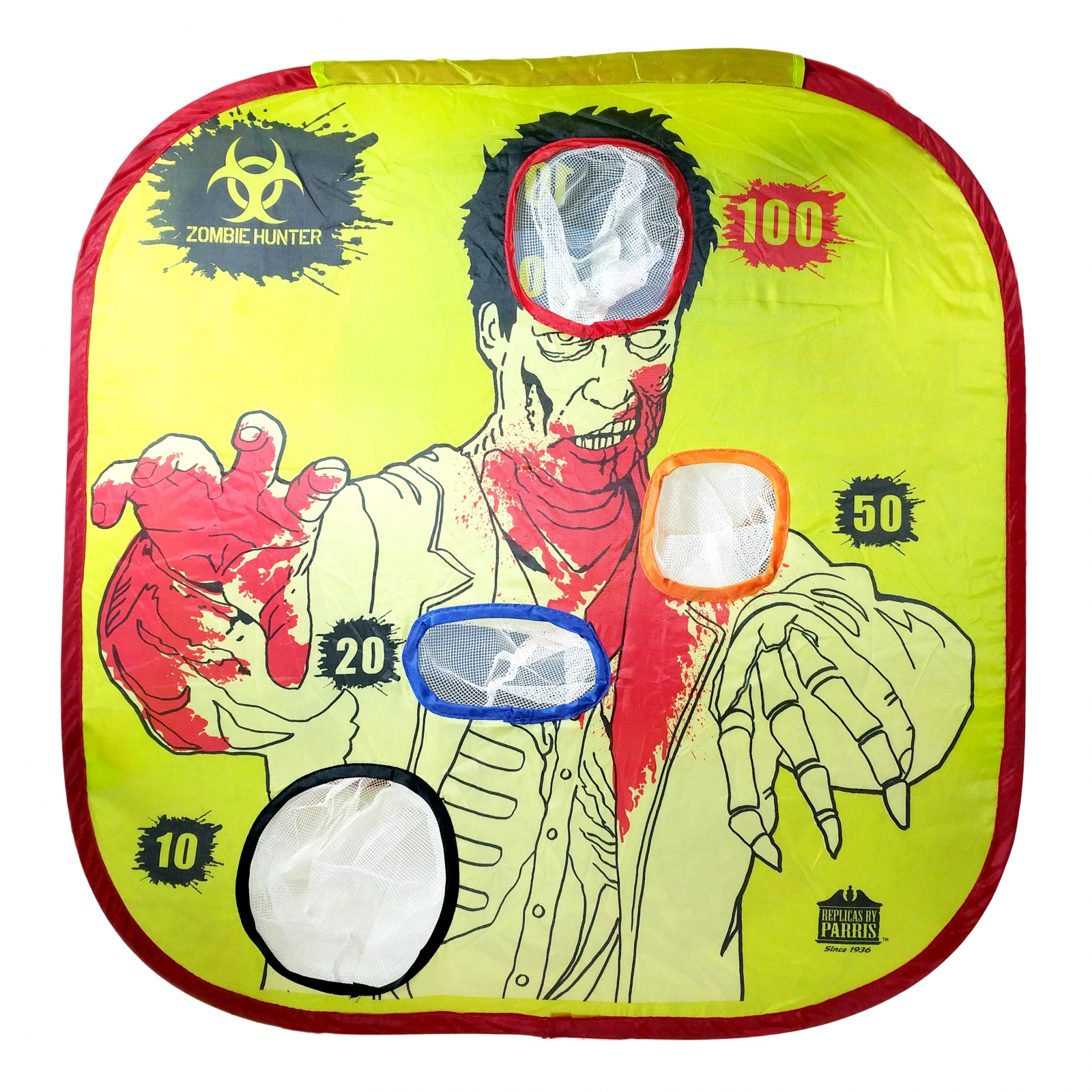 Parris Zombie Hunter Pop Up Target Pocket Catch Waterproof