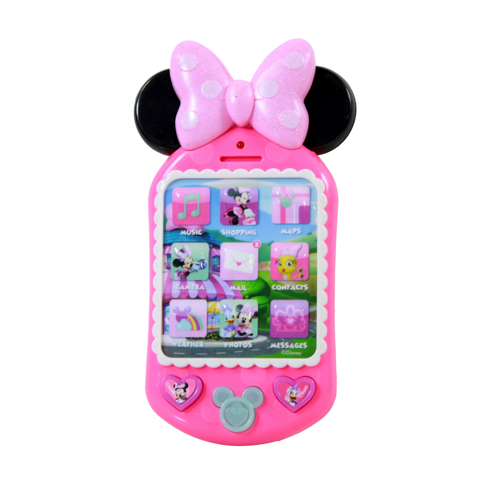 Disney Junior Minnie Mouse Why Hello! Pretend Cell Phone