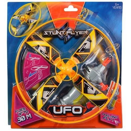 Pull and Fly Stunt Flyer UFO