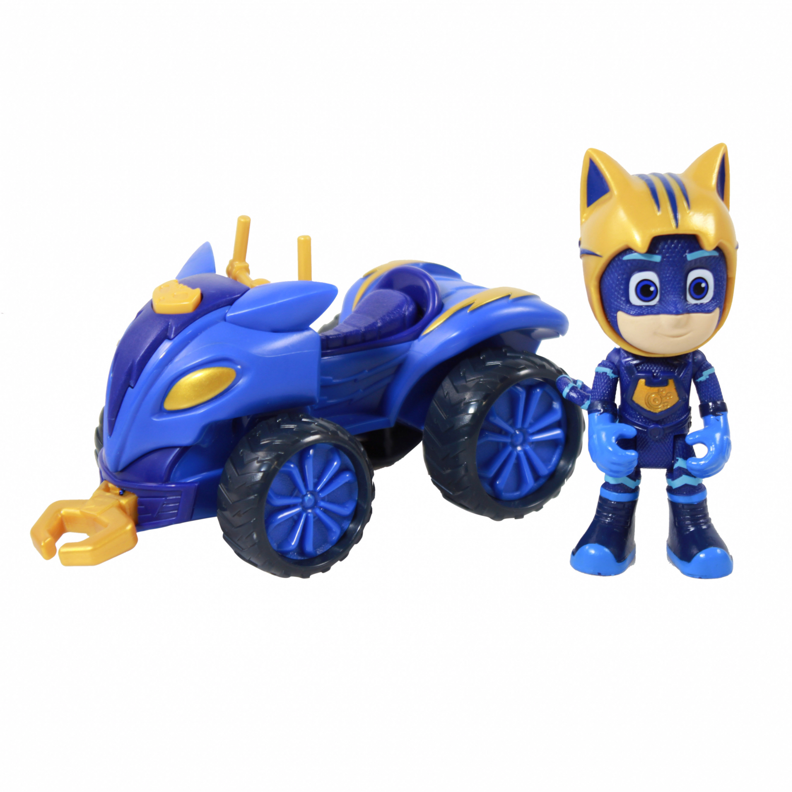 PJ Masks Collectible Mystery Mountain Quad Catboy Toy Car