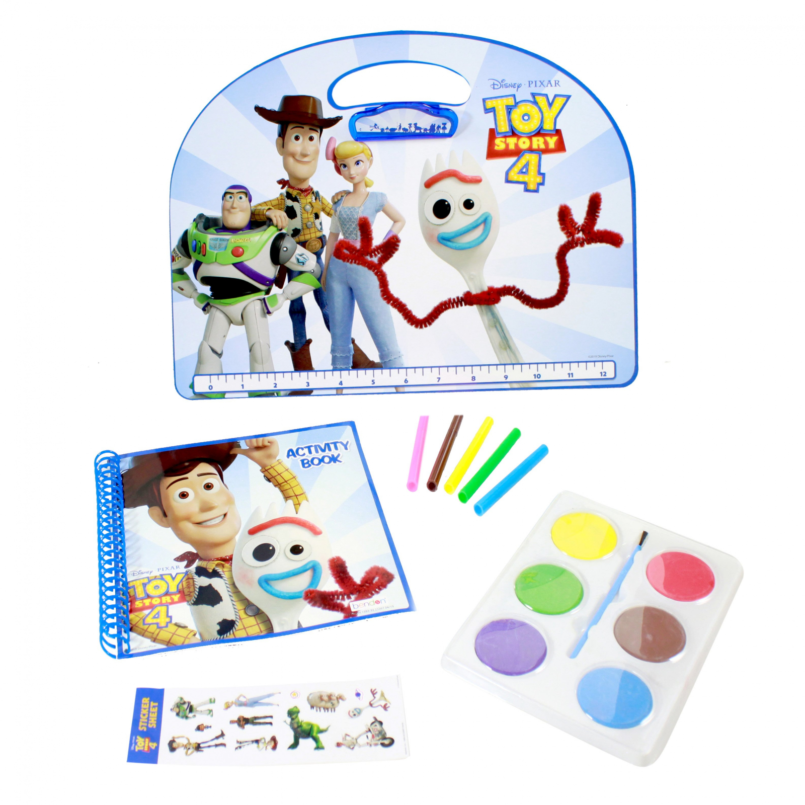 Disney Pixar Toy Story 4 Kids Activity Gift Set 12 Pieces