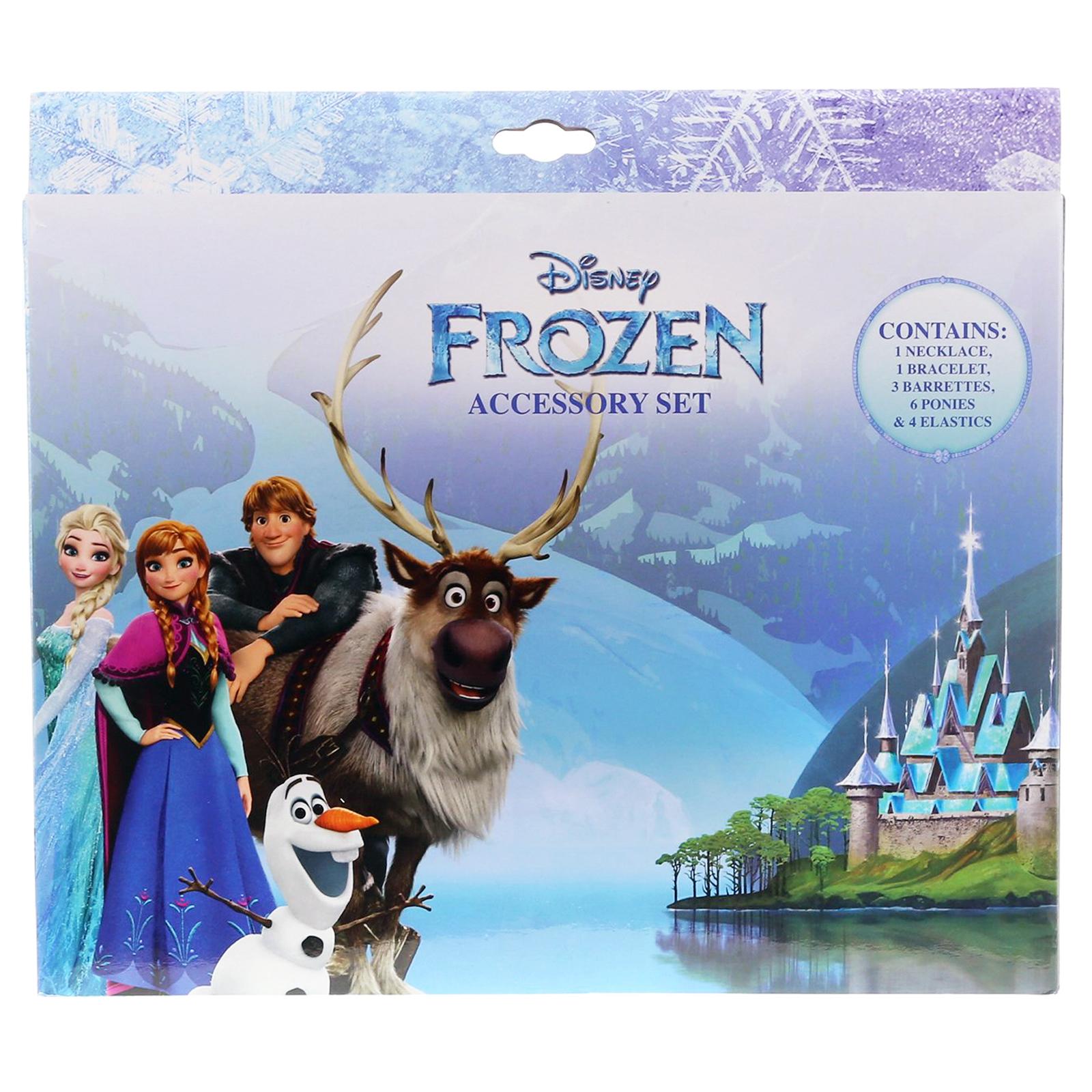 Frozen 15pc Hair Beauty Fashion Dress Up Pretend Play Costume Jewel Princess Set
