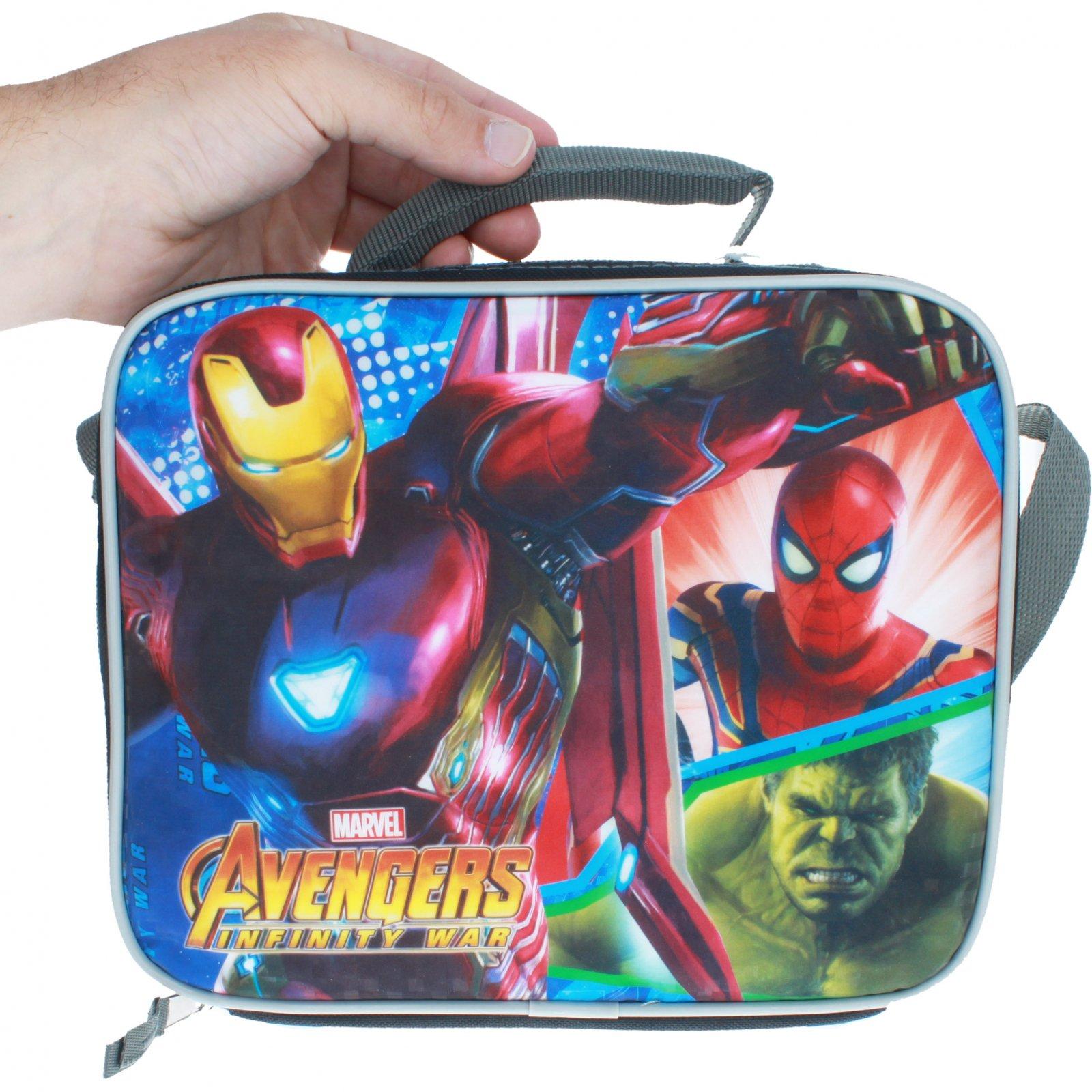 Disney Marvel Avengers Infinity War Graphic Lunch Bag