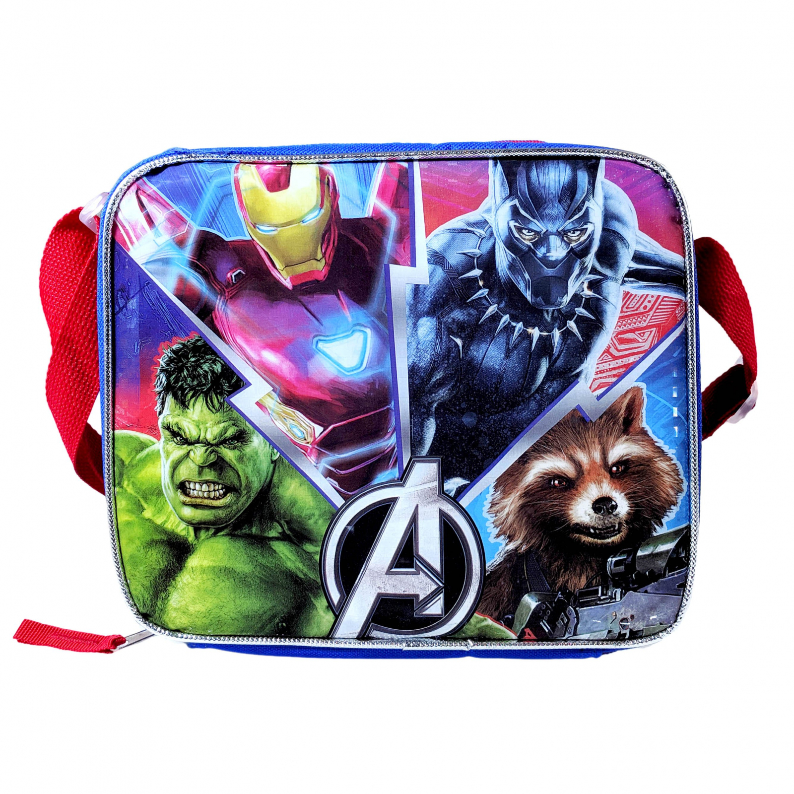 Marvel Avengers Licensed Lunch Bag Tote Box