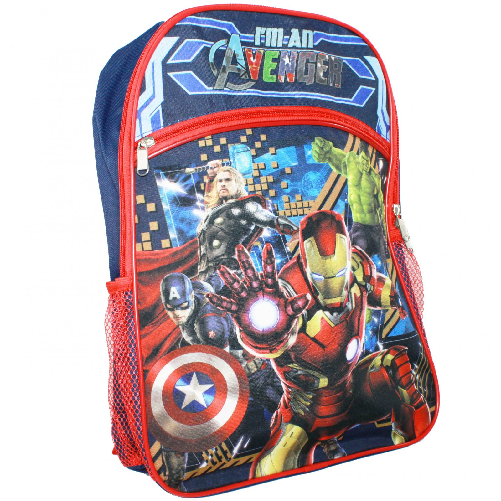 "Avengers 16"" Backpack Standard"