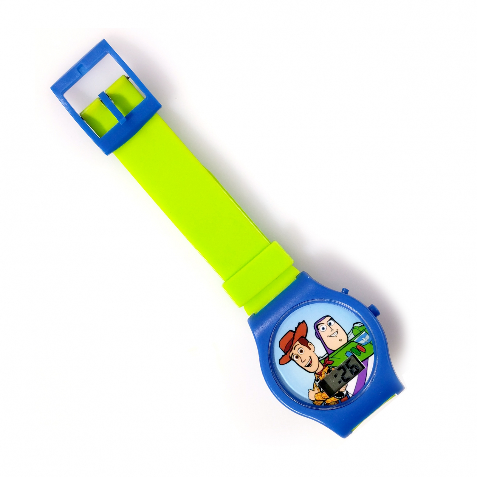 Disney Pixar Toy Story 4 LCD Digital Wrist Watch Timer Green