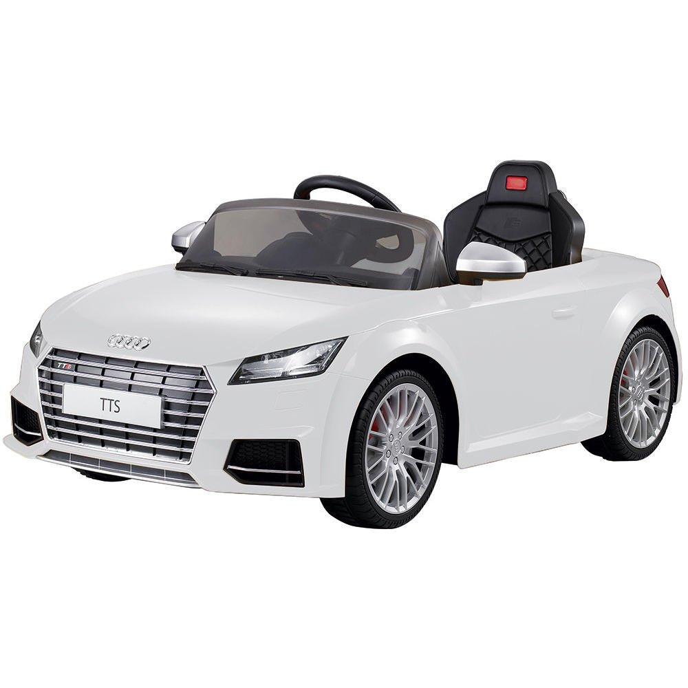White Audi Kids Ride On Audi TTS Roadster