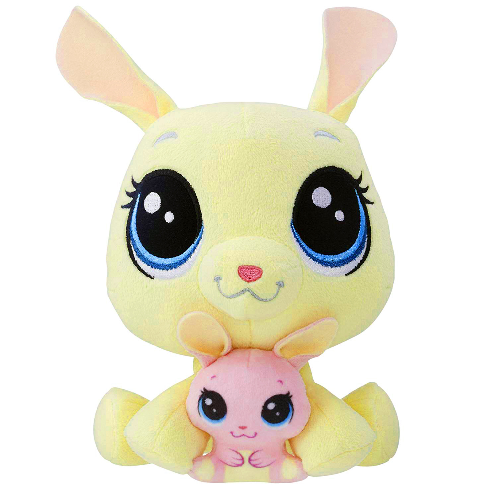 ea1163e3c25 Littlest Pet Shop Vanilla Velvetears and Bijou Velvetears Soft Plush Pairs