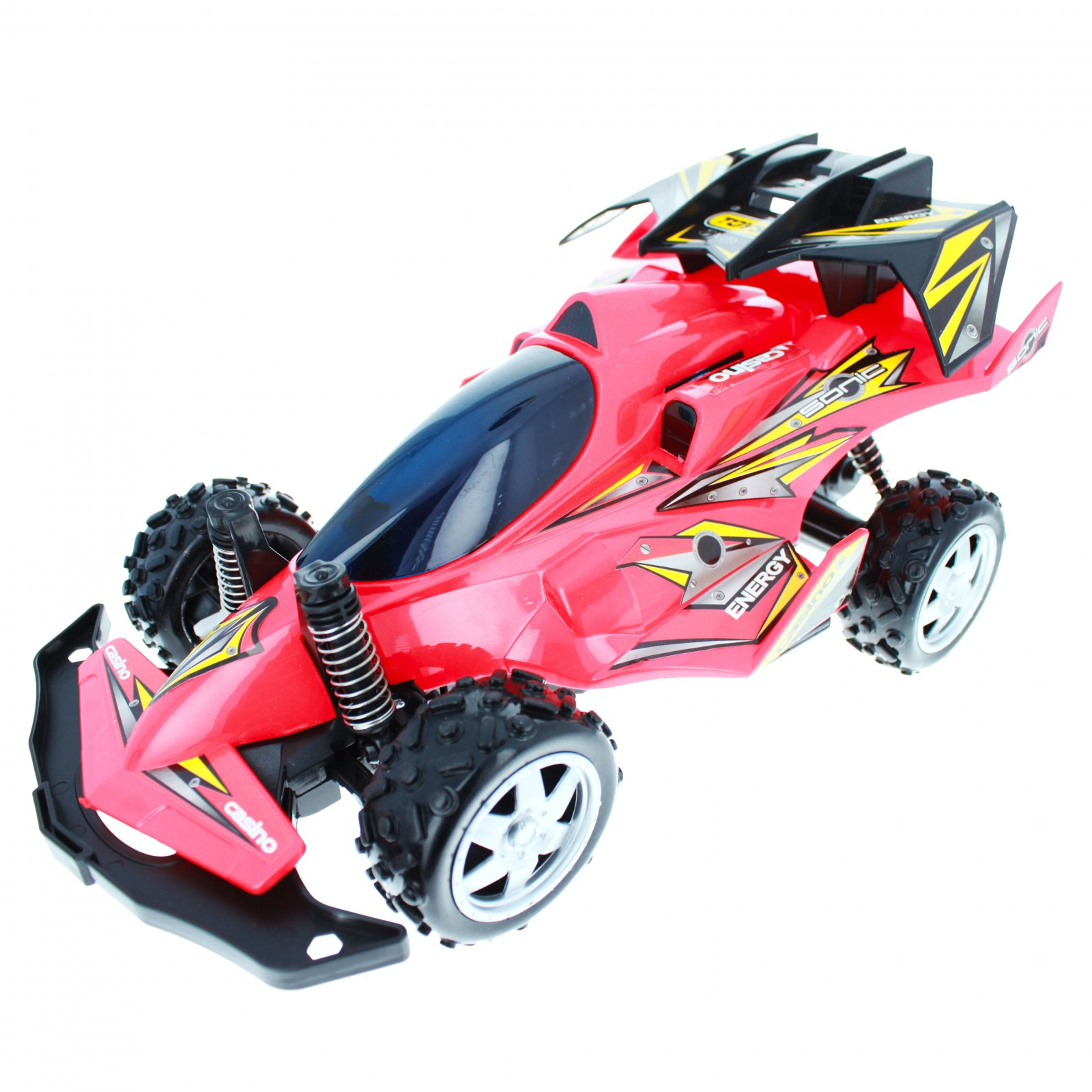 High Speed R/C Dune Buggy Vehicle - Red