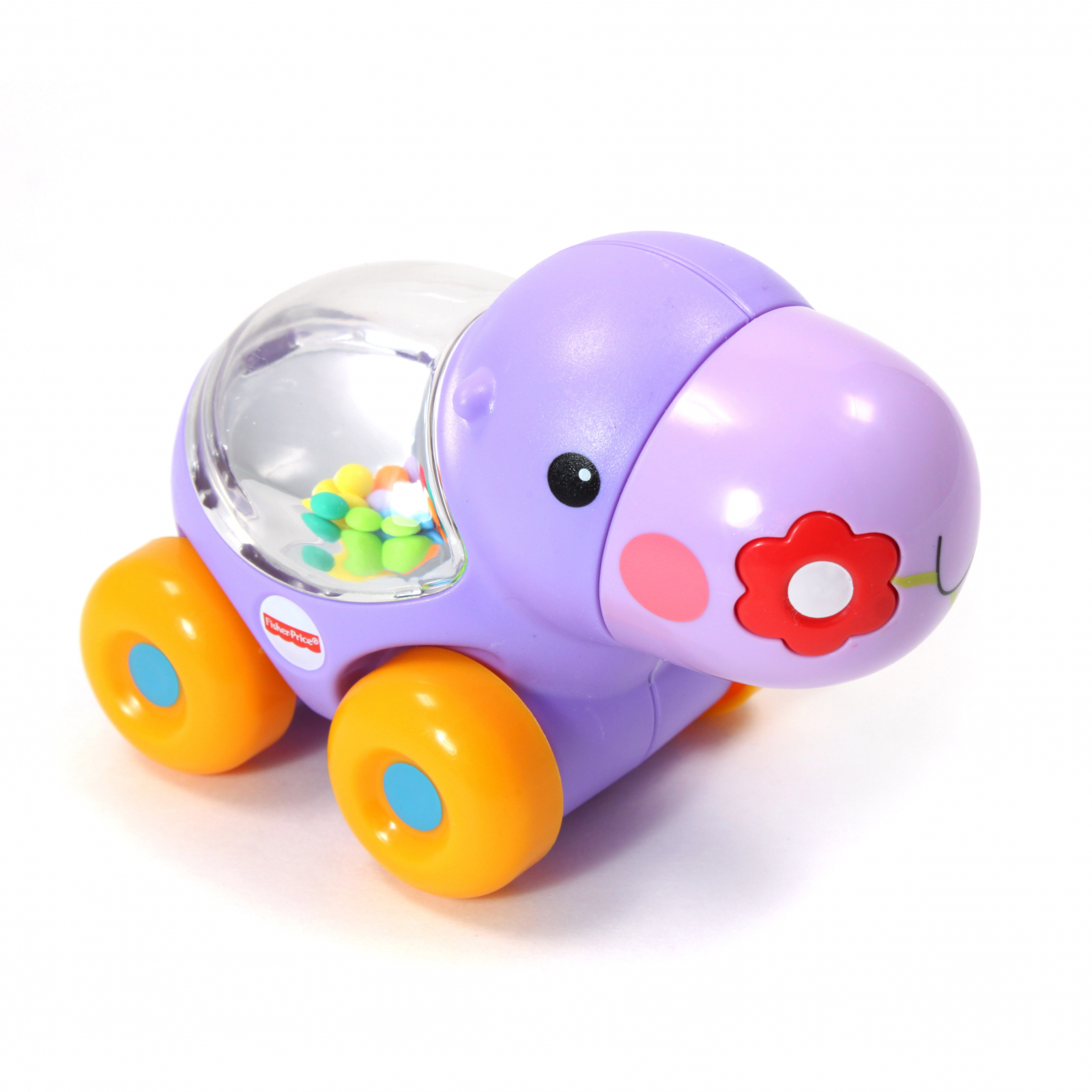 Fisher Price Poppity Pop Hippo Crawl Play Toy for Babies