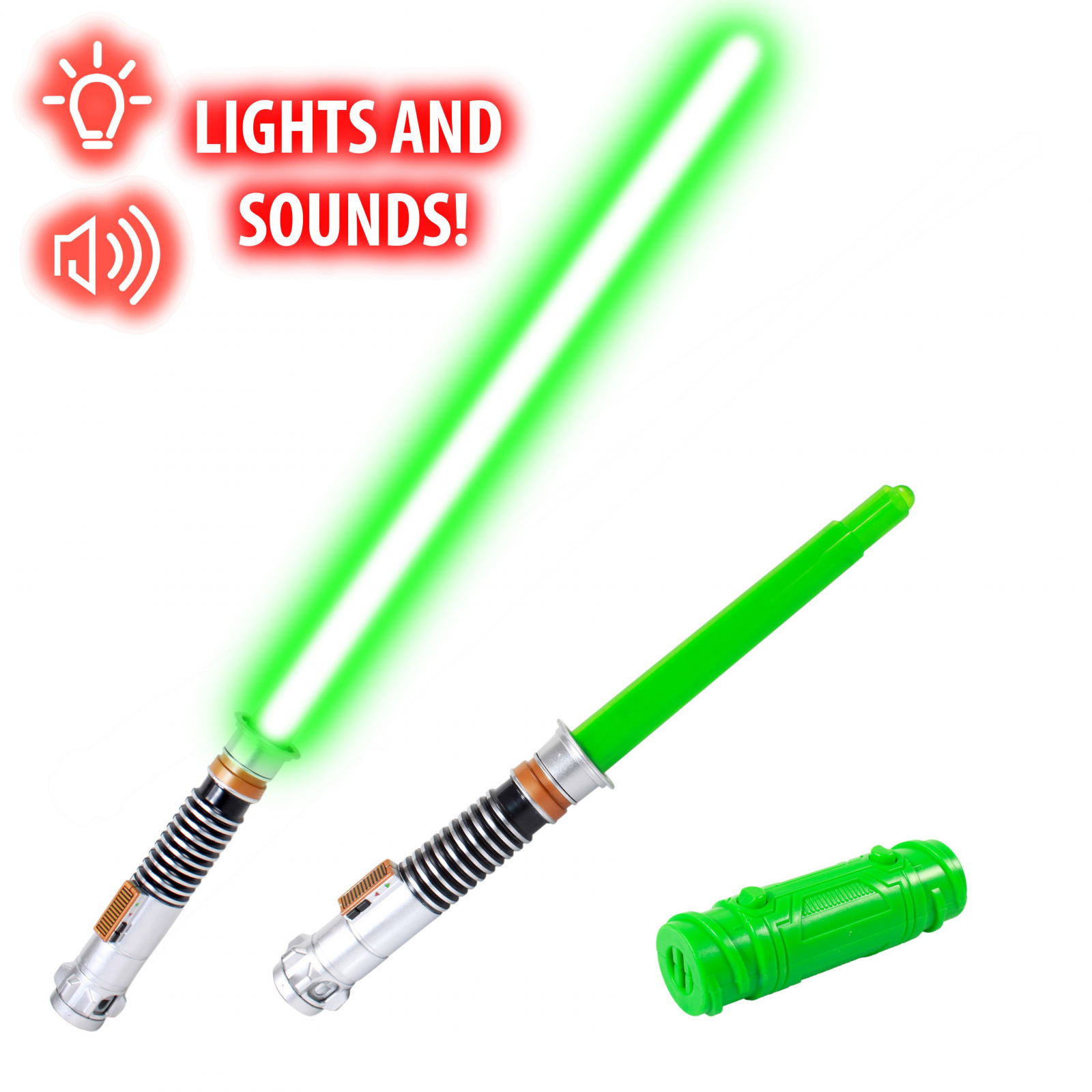 Star Wars Bladebuilders Luke Skywalker Green Lightsaber