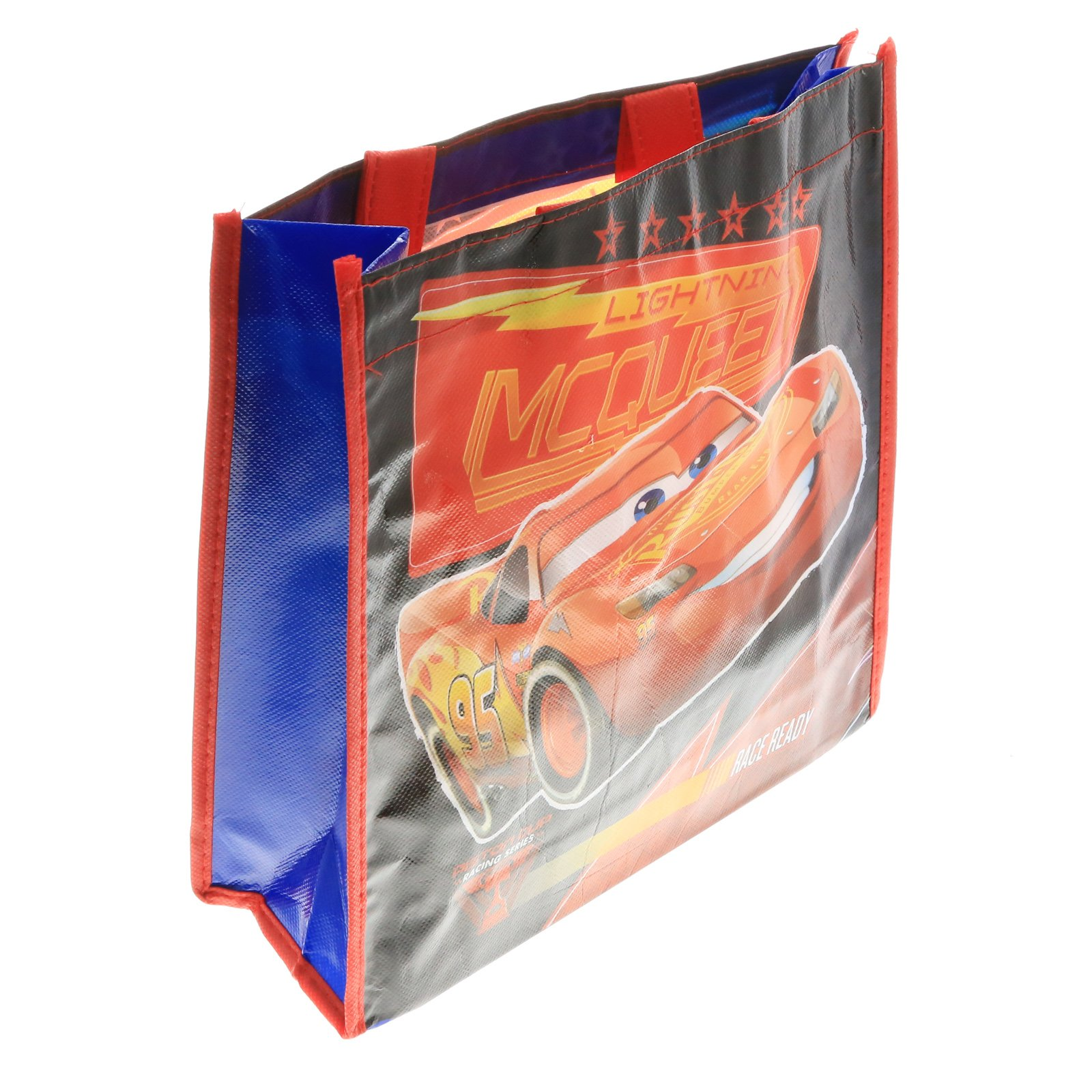 Disney Pixar Cars 3 Small Reusable Recycle Shopper Tote Bag