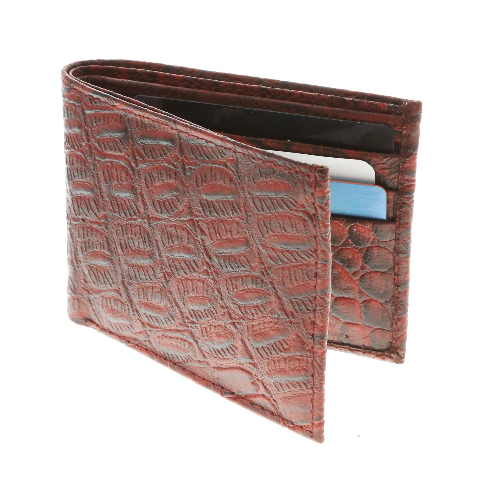 Brandon Dallas Spacious Bi-fold Wallet Hand Crafted with Genuine Leather