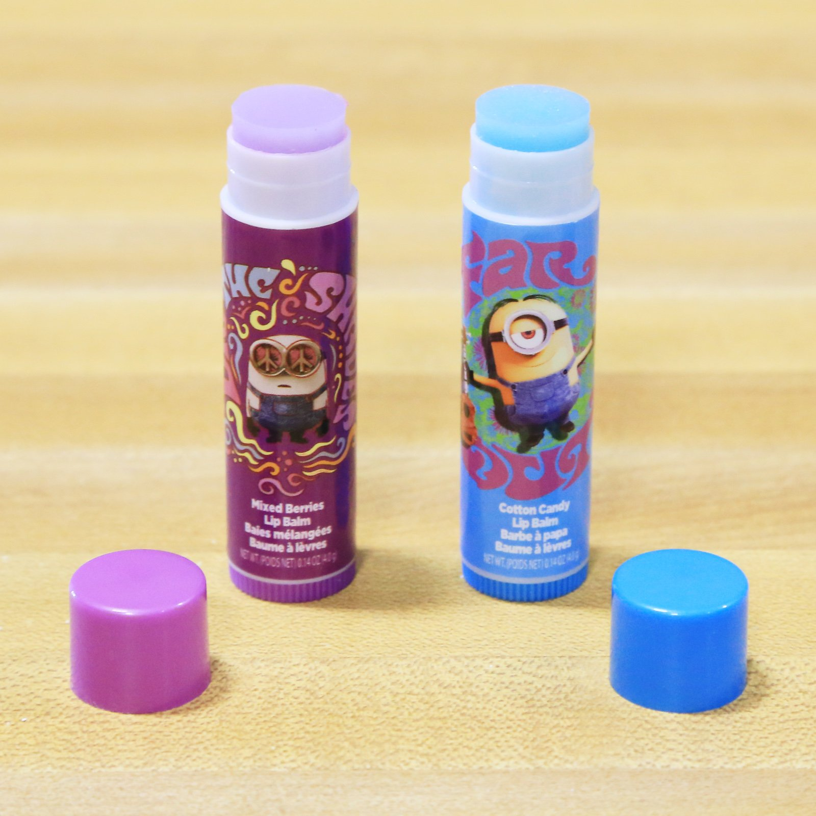Descpicable Me Minions Lip Balm 2pk With Fun Flavors