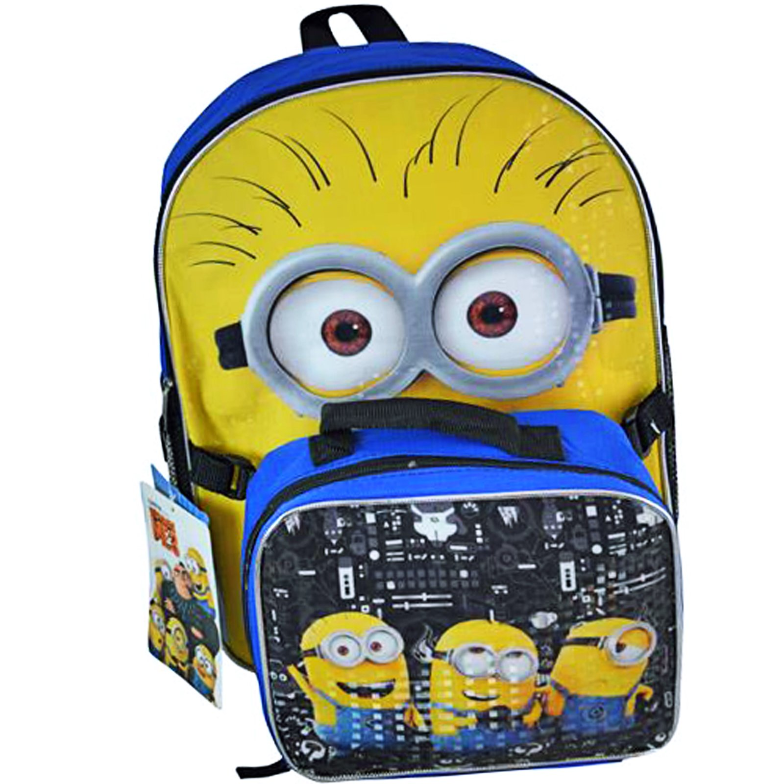 Minions Backpack and Lunch Kit