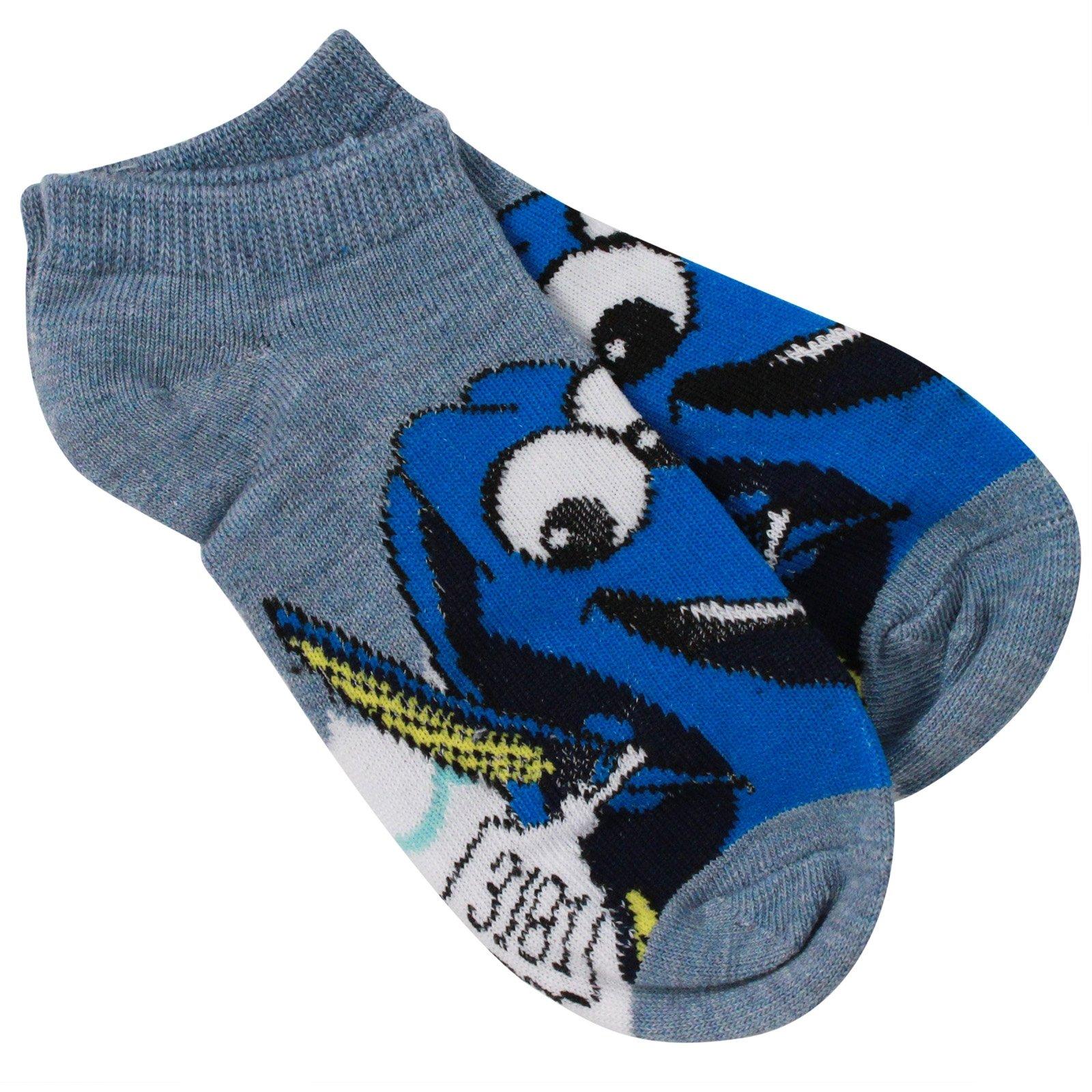 Disney Pixar Finding Dory Girls Ankle Socks Sizes 6-8.5
