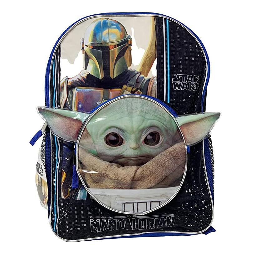 Disney Star Wars Mandalorian Baby Yoda Kids Backpack 2pc Set