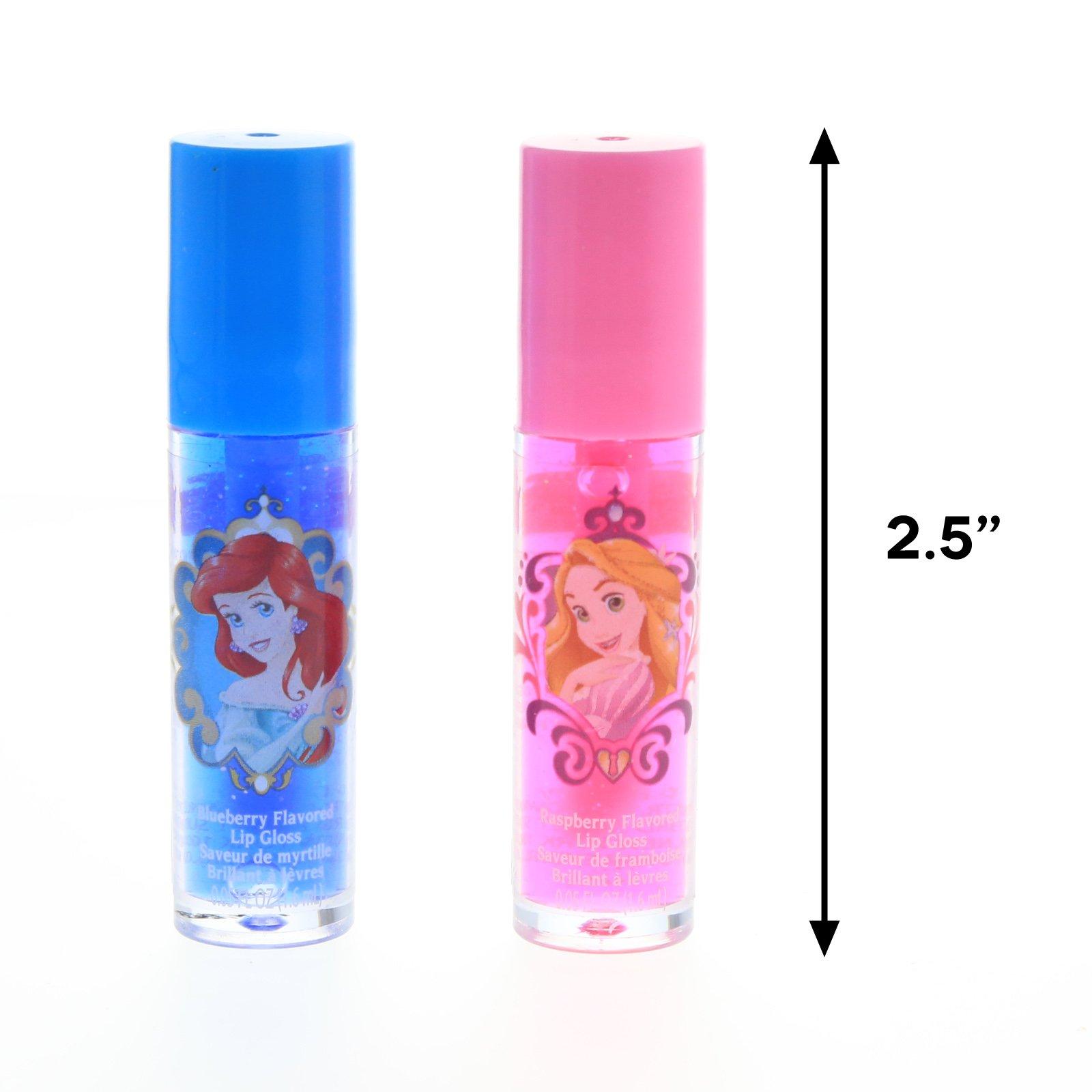Disney Princess Lip Gloss Girls Dress Up 2pk