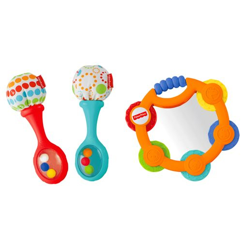Fisher Price Laugh and Learn Toys Tambourine Maracas Set