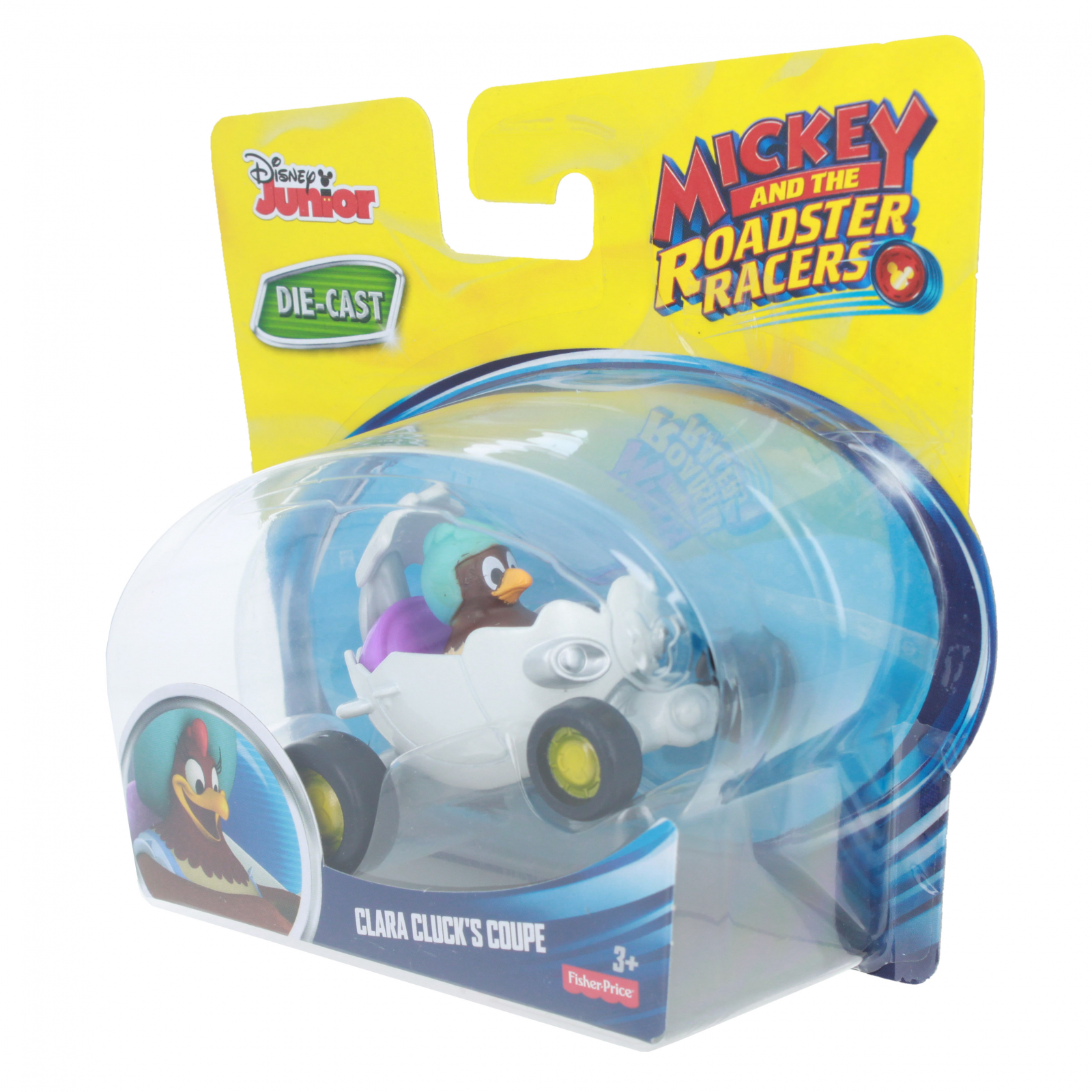 Clara Clucks Coupe Fisher-Price Disney Junior Mickey /& the Roadster Racers