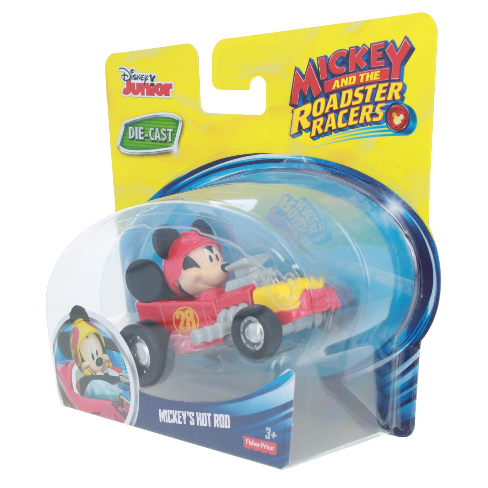 Disney Mickey Mouse Roadster Racer Die-cast Figure Hot Rod