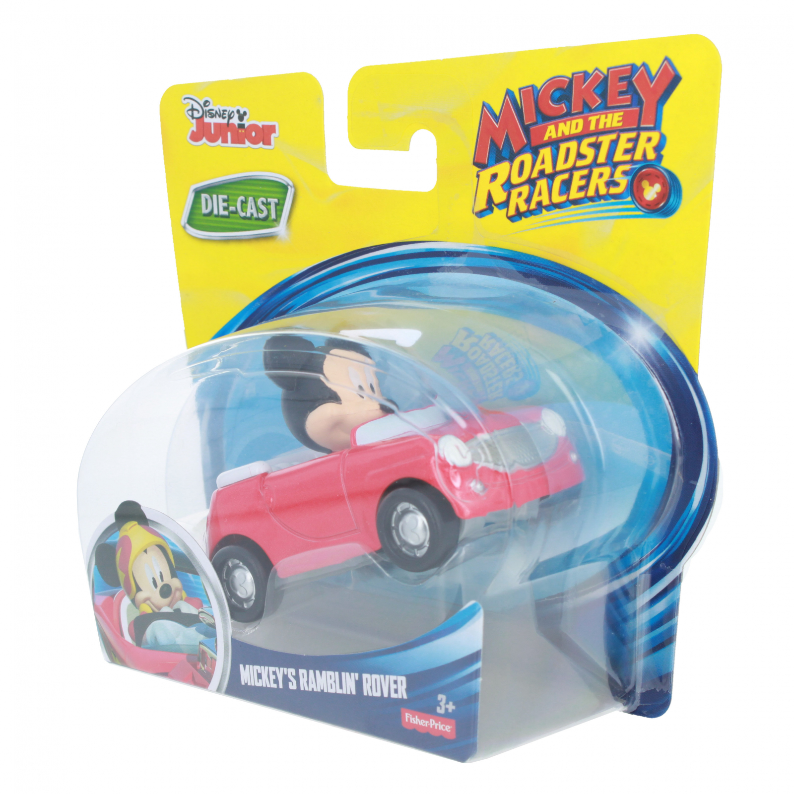Disney Mickey Mouse Roadster Racer Die-cast Ramblin Rover