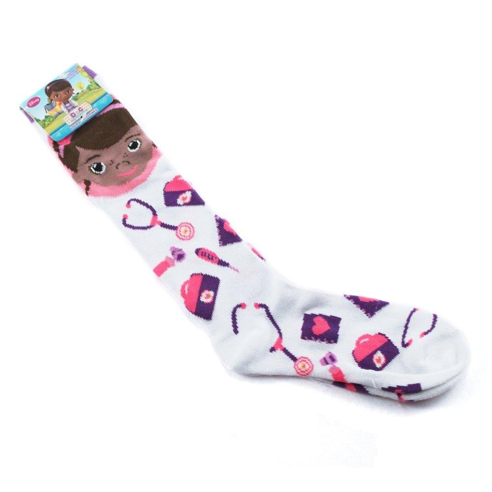Doc McStuffins Doctor's Equipment Knee High Socks Size 6-8