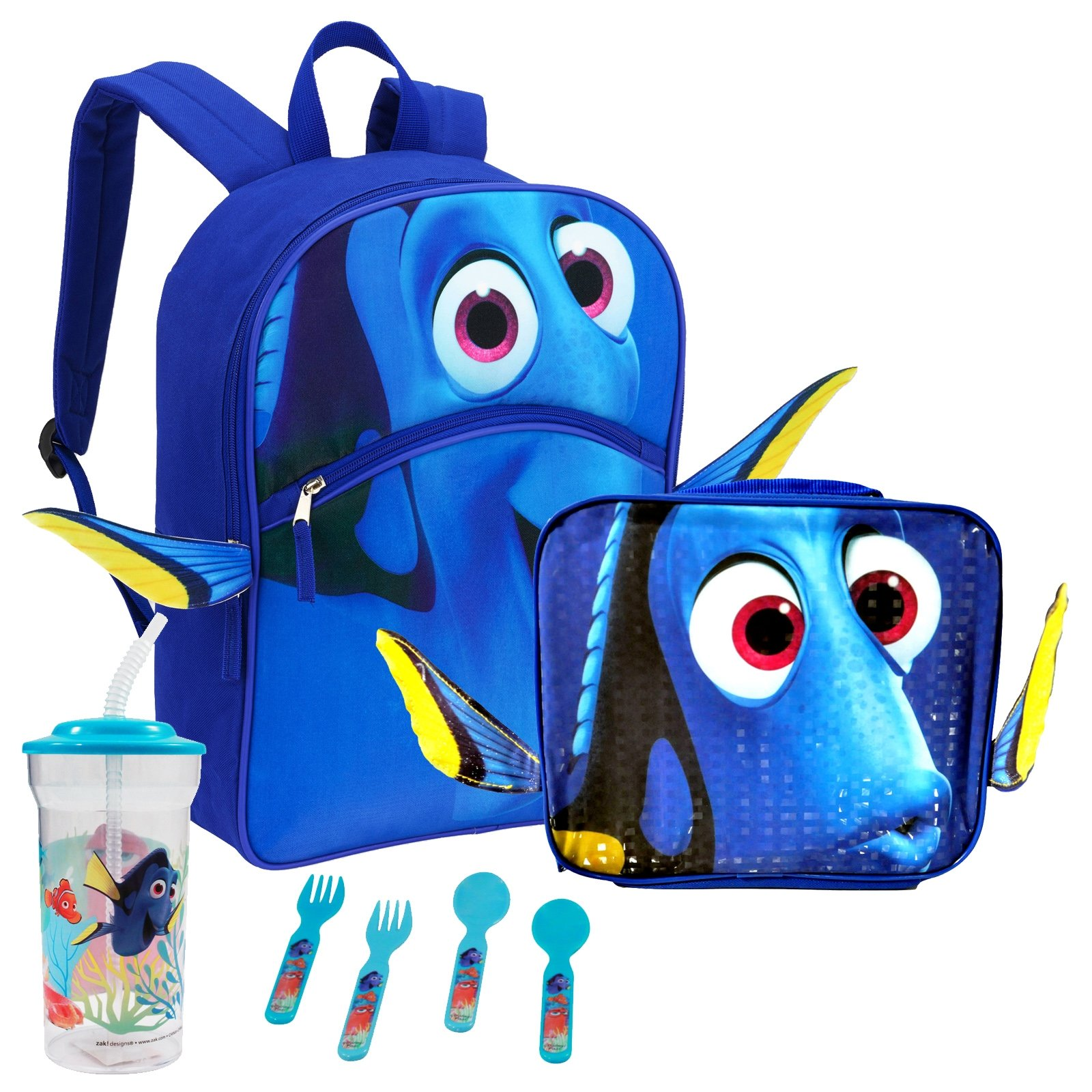 3D Backpack Lunchbag School Bundle Finding Dory
