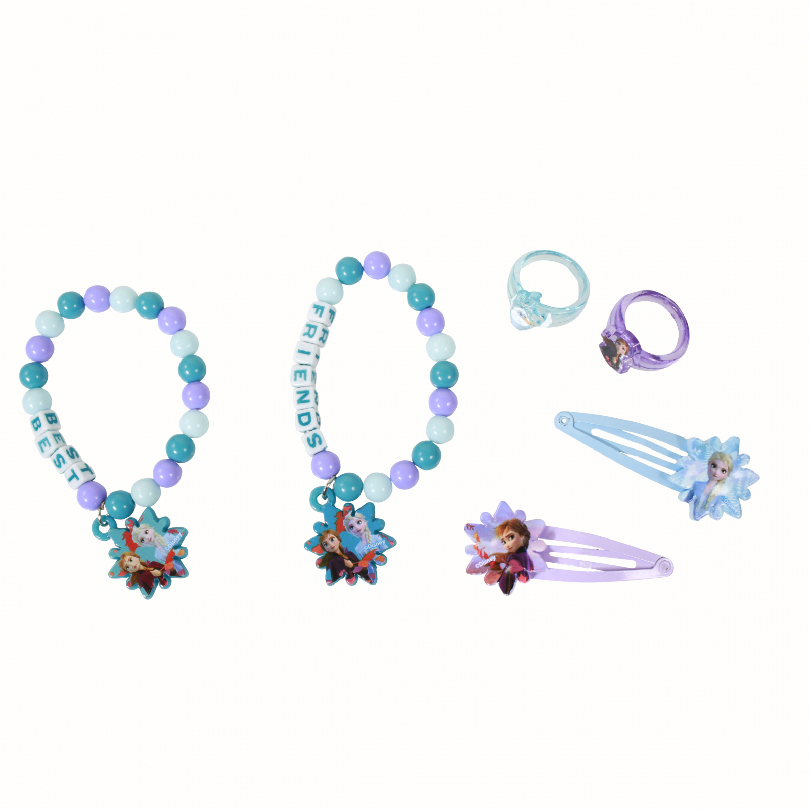 Frozen 2 Best Friends Matching Bracelets And Accessories Set