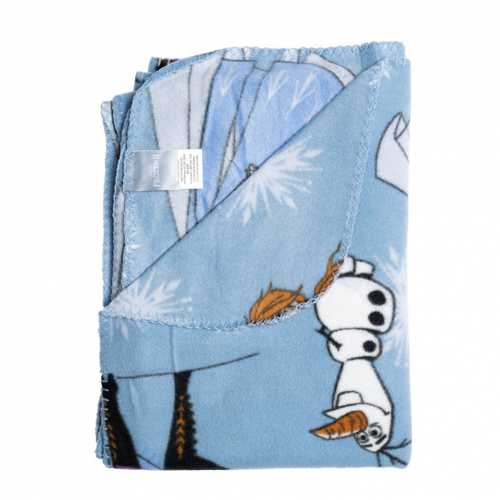 Disney Frozen 2 Plush Fleece Throw Blanket 45 x 60 Inch