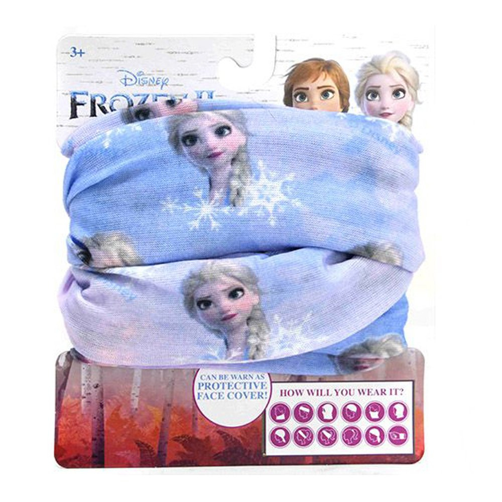 Disney Frozen 2 Breathable Girls Neck Wrap Gaiter Face Cover