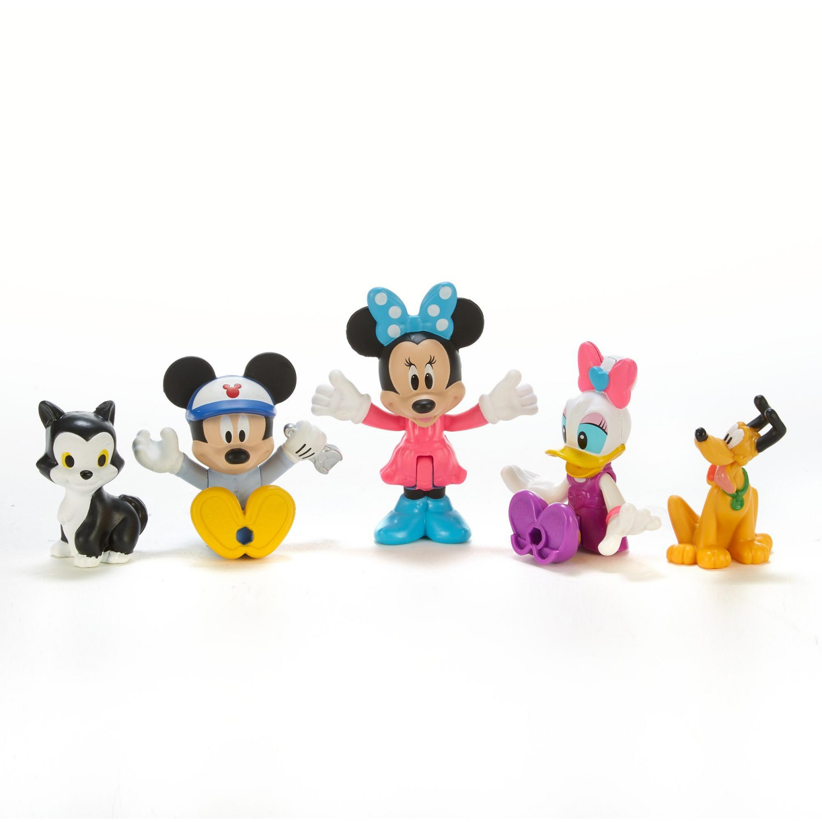 Disney Minnie Mouse Fisher Price Collectible Poseable 5pcs