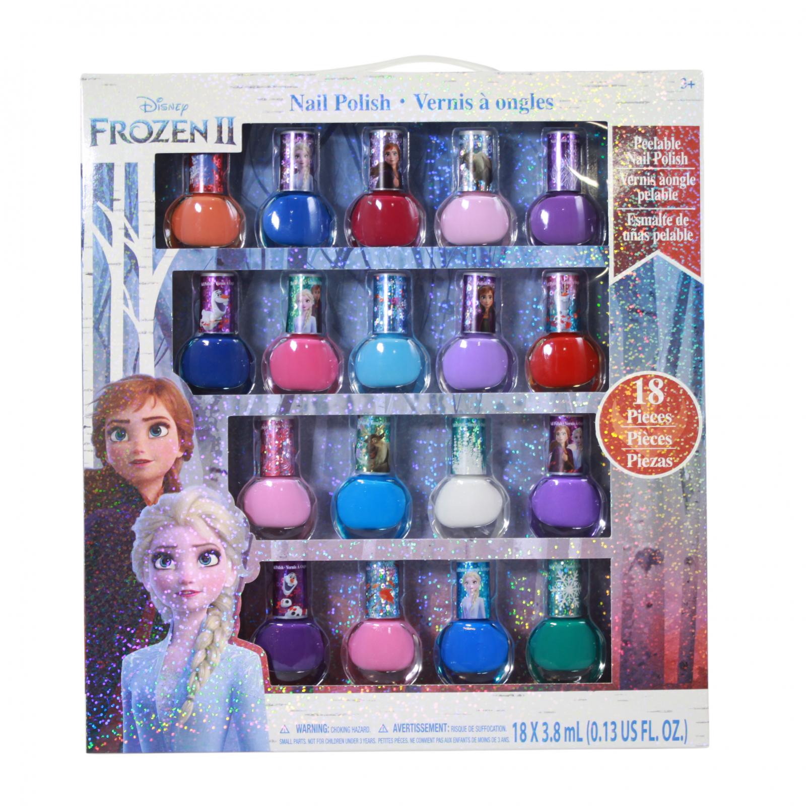 Disney Frozen 2 Girls Deluxe Nail Polish Gift Set 18 Pieces