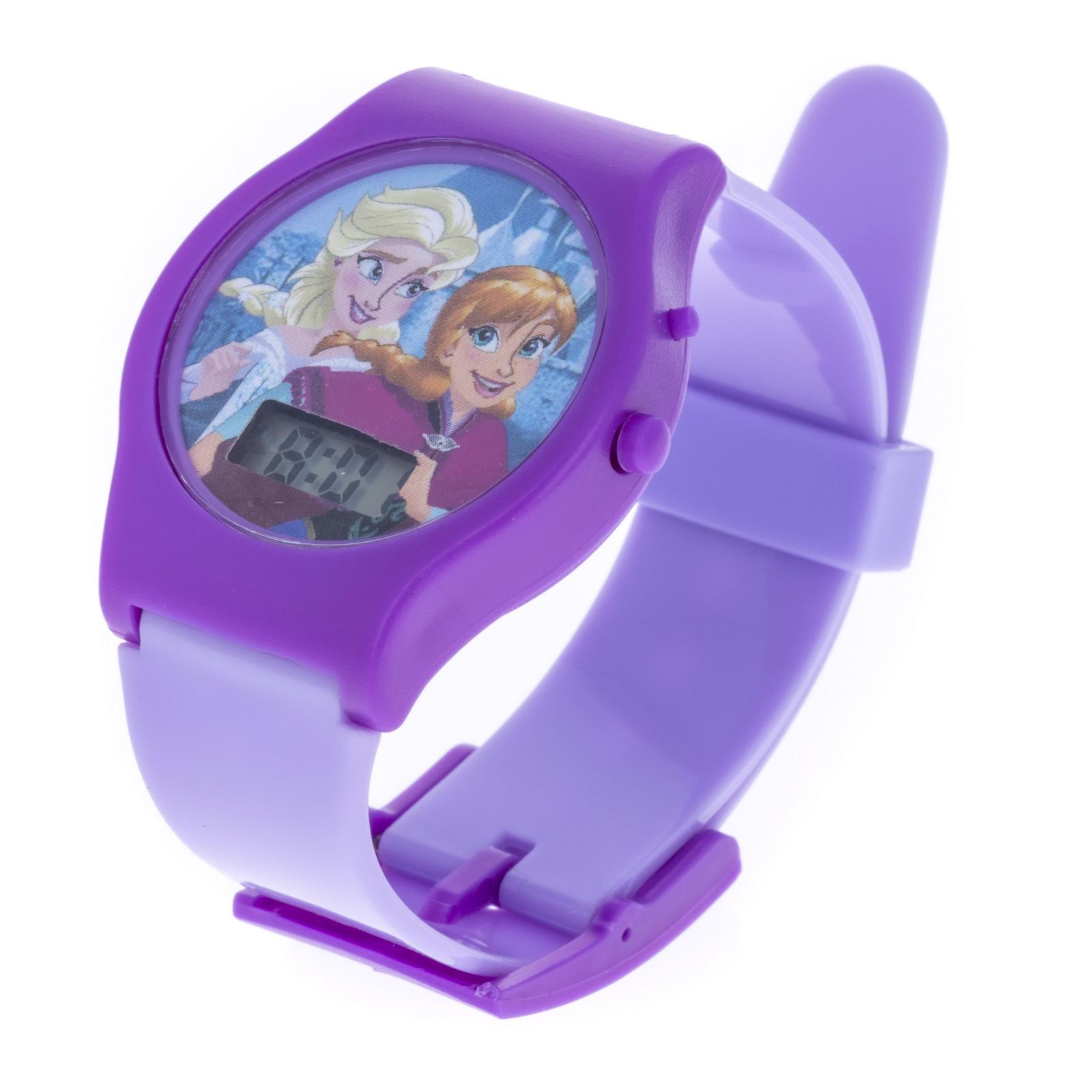 Disney Frozen Digital Watch Elsa and Anna Design - Purple