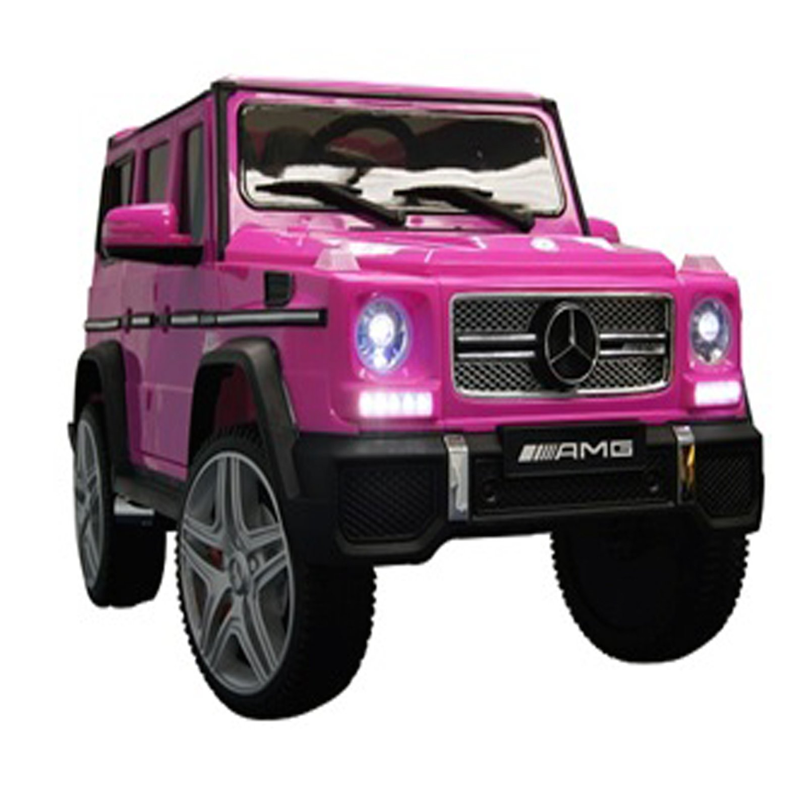 KidPlay Licensed Kids Ride On Car Mercedes G65 12V Battery Powered Vehicle Pink