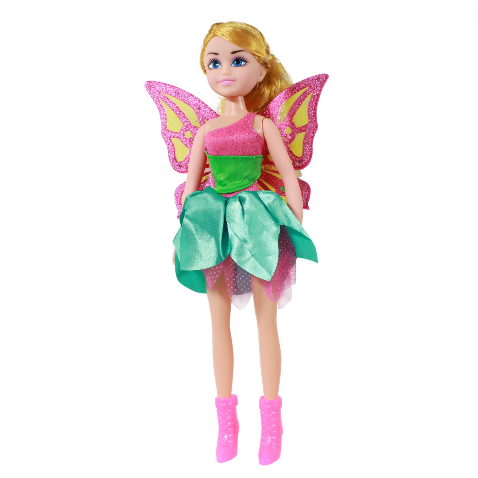TychoTyke Girls Fairy Princess Doll Green Dress 17 Inch