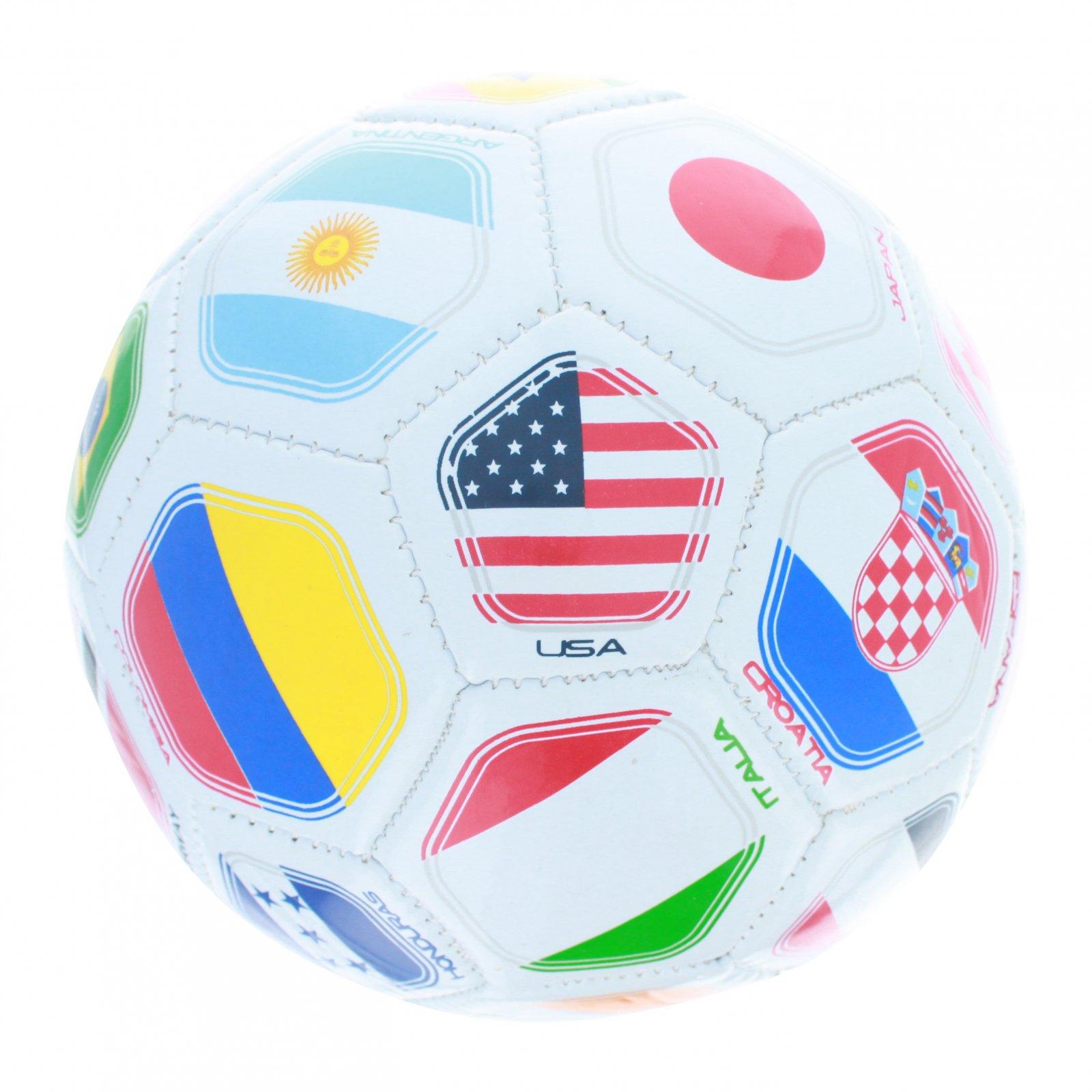 World International Multi Country Flag Soccer Ball - Size 2