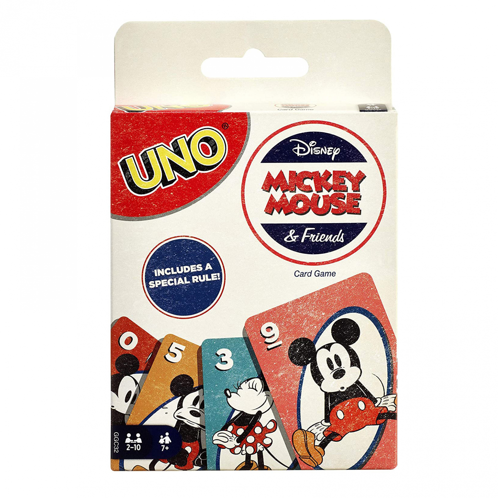 Disney UNO Vintage Mickey Mouse and Friends Collectible Card