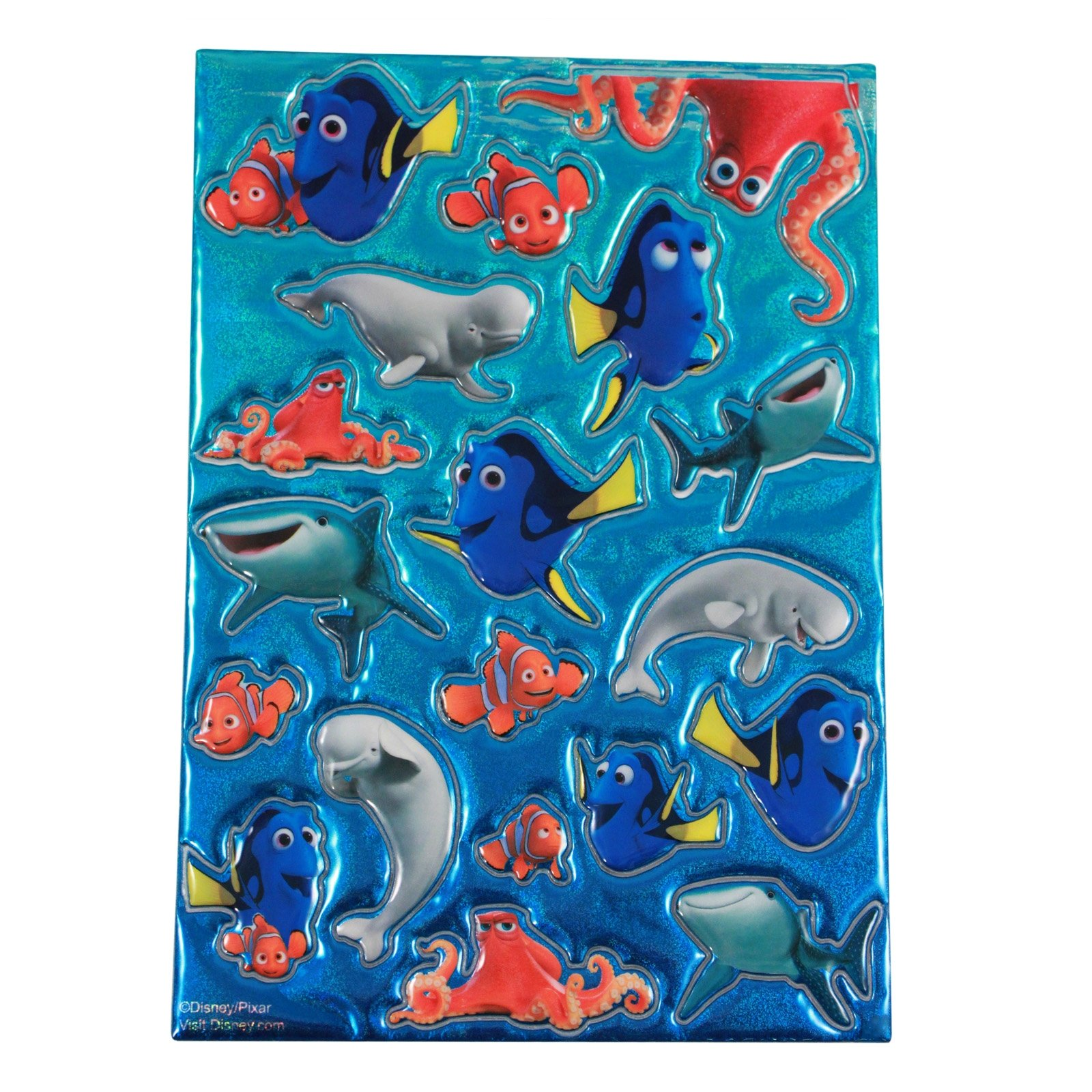 Dory Puffy Stickers