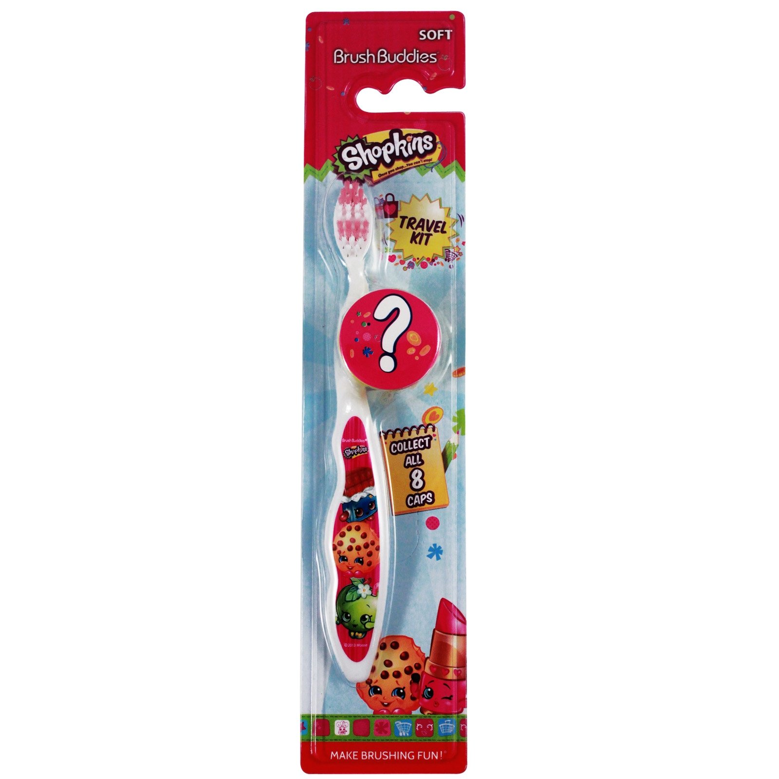 Shopkins Kids Tooth Brush with Cover