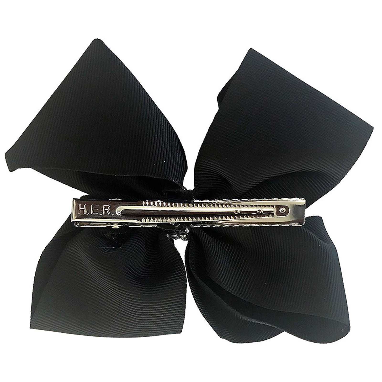 Nickelodeon JoJo Siwa Girls Hair Clip Style Bow Black with Rhinestones Accessory