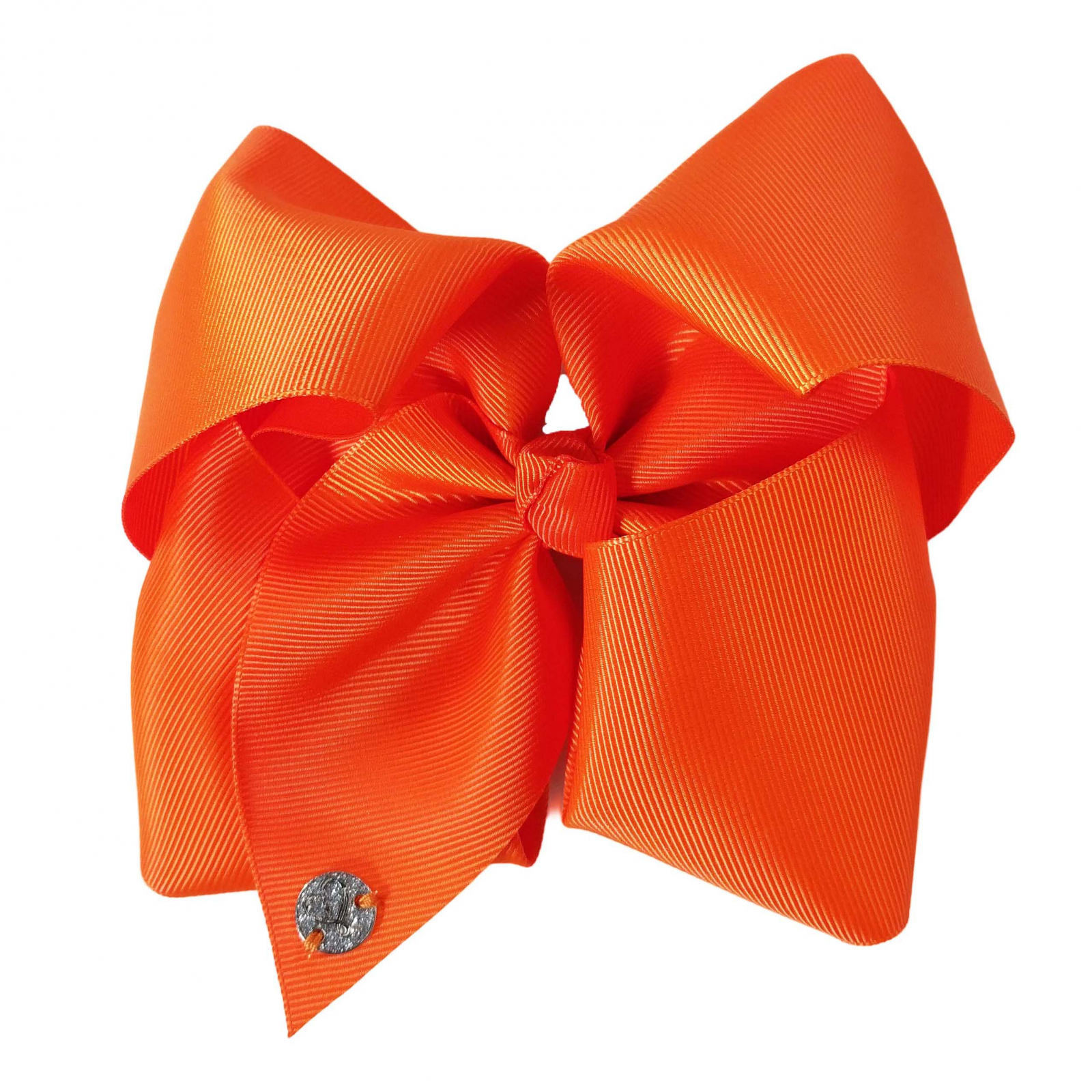 Nickelodeon JoJo Siwa Girls Large Tangerine Bow Kids Fashion