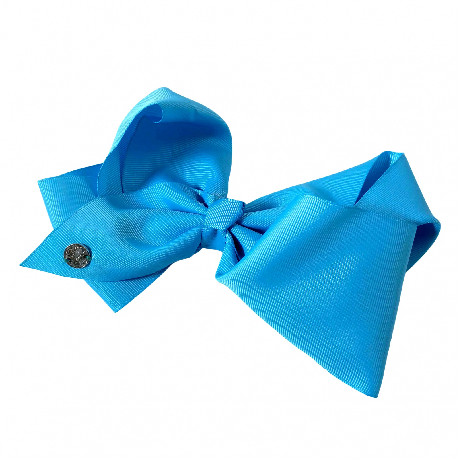 Nickelodeon JoJo Siwa Girls Large Neon Blue Bow Kids Fashion