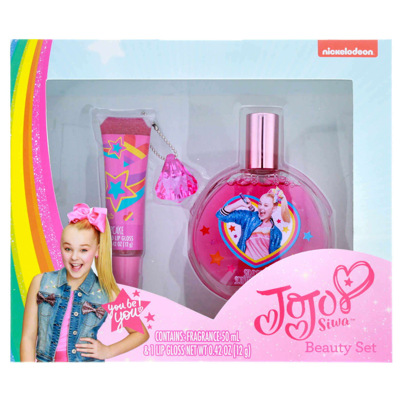 Nickelodeon JoJo Siwa Girls Beauty Gift Set Fragrance 2pc