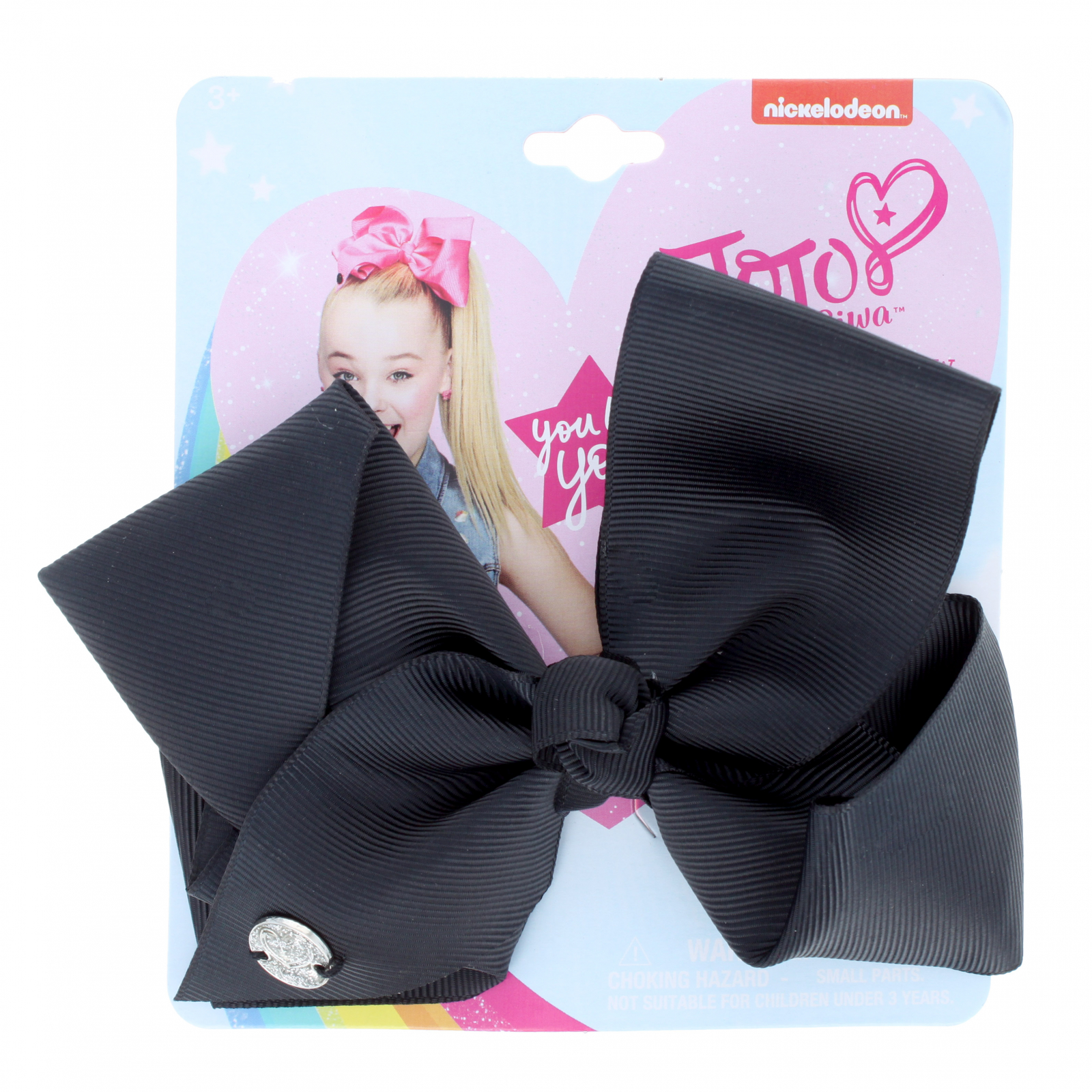 Nickelodeon Jojo Siwa Black Hair Bow Hair Clip